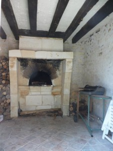 gîte rural, intérieur four à pain