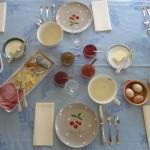 chambre d'hôte - petit déjeuner